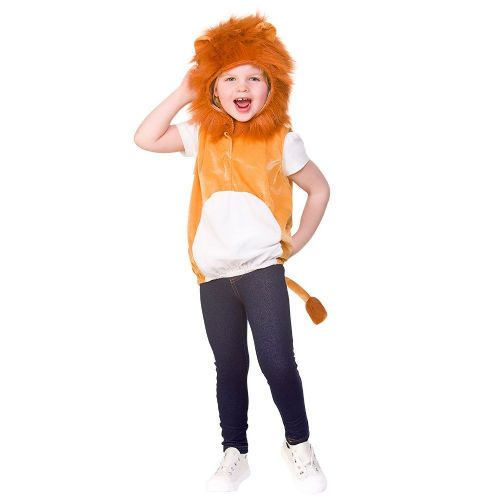 Childrens Child Tabard - Lion Costume Unisex Fancy Dress